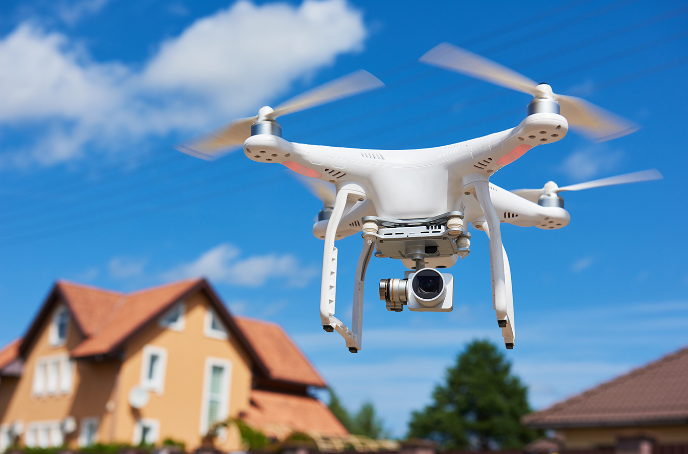 photo of a drone recording real estate listing videos demonstrating Good How to get more real estate listings.