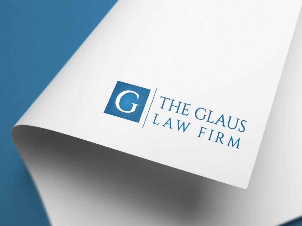 photo of the glaus firm new logo design by Creative Edge