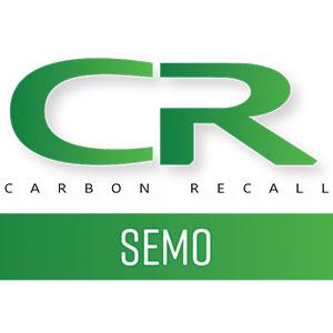 photo of the carbon recall semo logo by creative edge